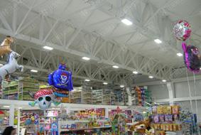 Освещение торгового центра «Кенгуру» г.Нальчик
