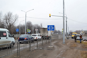 Пешеходные и транспортные светофоры класса «Престиж» в г. Чегем