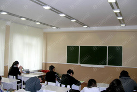 Освещение школьных классов  МОУ «СОШ №14» г.Нальчик