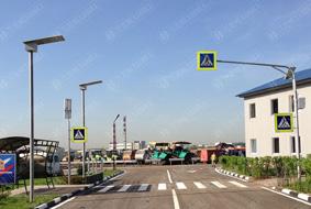 Система «Безопасный переход» на улицах Москвы и Московской области.