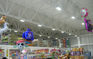 Светодиодные светильники для освещения торговых залов