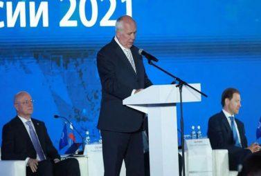 1 июня 2021 года в Крокус Конгресс Холле состоялся очередной отчетно-выборный Съезд Союза машиностроителей России